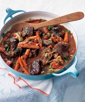 Fast & Easy Dinner: Spring Lamb and Vegetable Stew