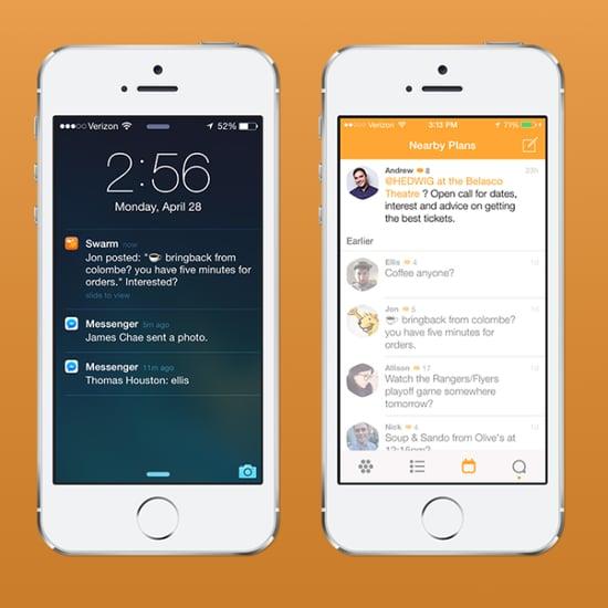 Foursquare Redesign And Swarm