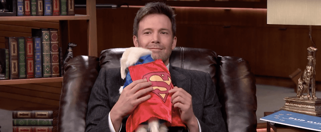 Ben Affleck Cuddles With a Superhero Puppy, Makes Everyone Turn to Mush