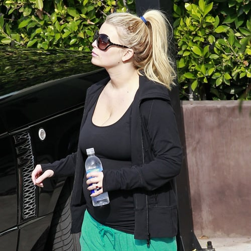 Jessica Simpson's New Baby Bump (Pictures)