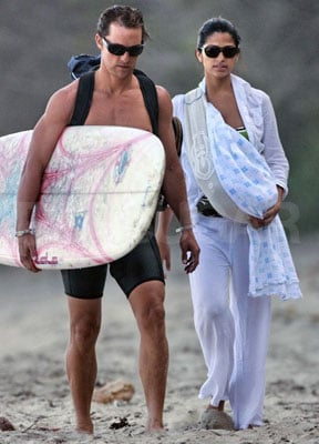 Levi's Parents Introduce Him to the Surf