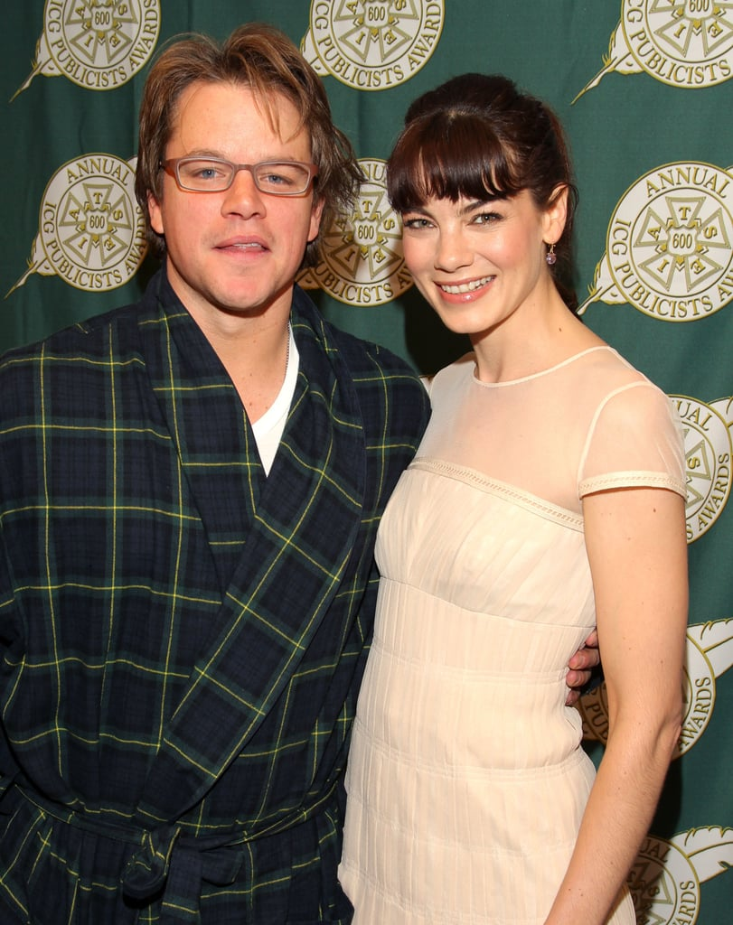 Matt Damon Is a Hot Surprise at the Publicist Awards, Even in His Pajamas!
