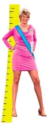 Kiehl's Longest-Legged Woman Shaving Contest