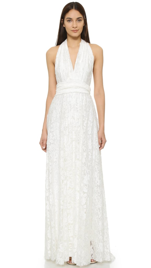 Twobirds Lace Ballgown ($440)