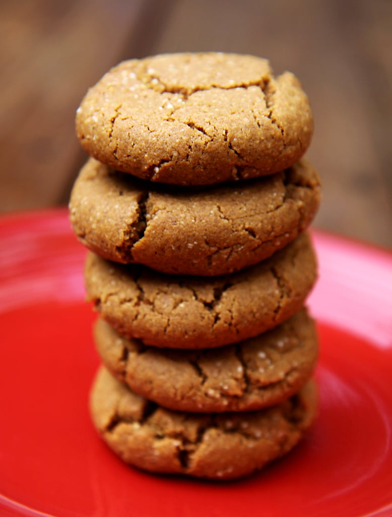 Ginger Molasses Cookies With Quinoa Flour