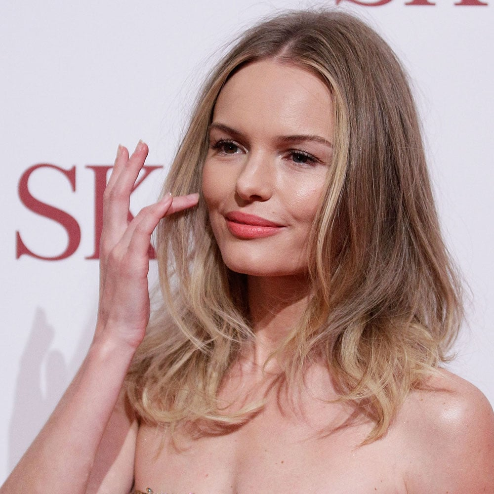 """""""I want to somehow make my long(ish), blonde locks look cool, i.e. with no beauty queen/Real Housewives of Beverly Hills connotations. Kate Bosworth will be my muse."""" — Ali, FabSugar editor"""