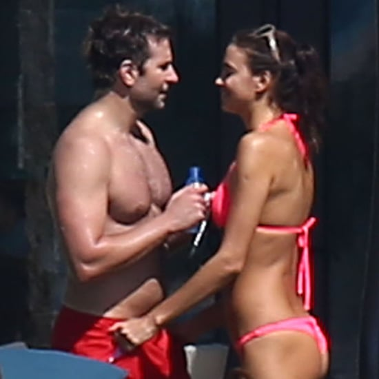 Bradley Cooper Shirtless With His Girlfriend