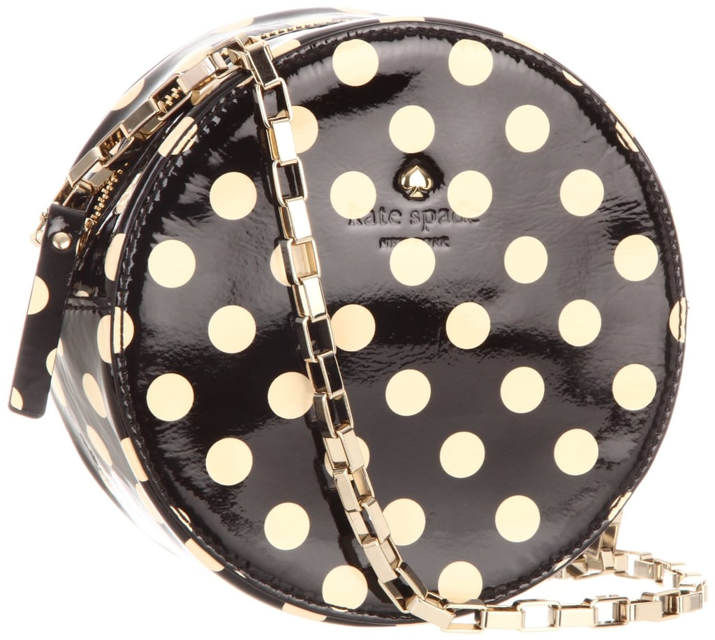 Add a pop of print to your look with Kate Spade's Normandy polka-dot crossbody bag ($298).