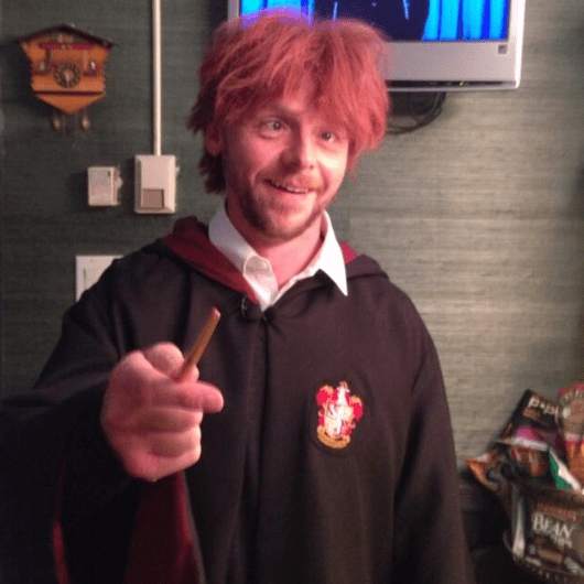 Drunk Ron Weasley on Jimmy Fallon