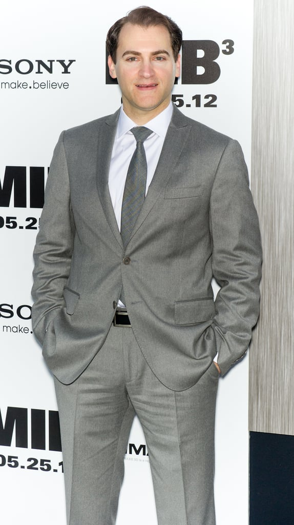Michael Stuhlbarg attended the Men in Black III premiere in NYC.