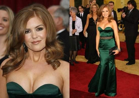 Oscars Red Carpet: Isla Fisher