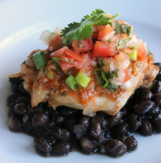 Mexican-Style Crockpot Chicken