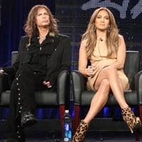 American Idol 2011 Winter TCA Panel Jennifer Lopez and Steven Tyler Quotes and Pics