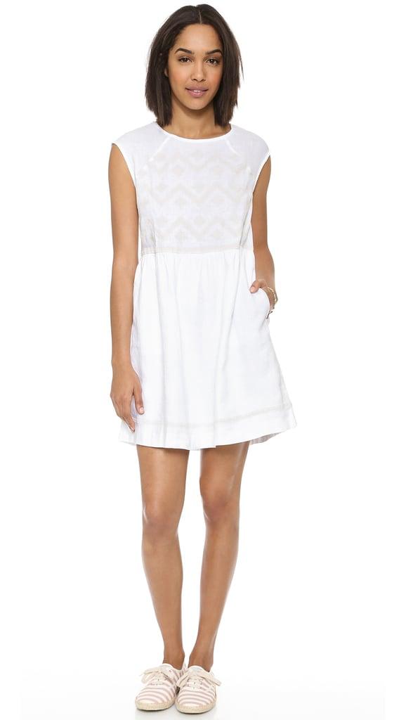 Madewell White Linen Dress