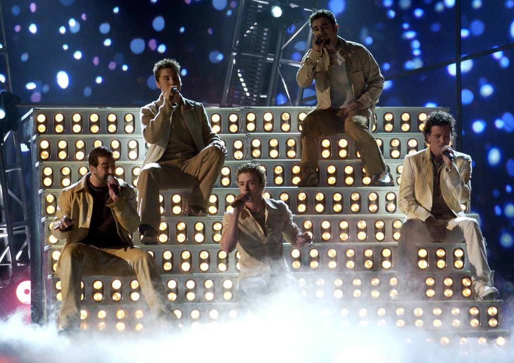 'NSync sat down for a special show in 2001.