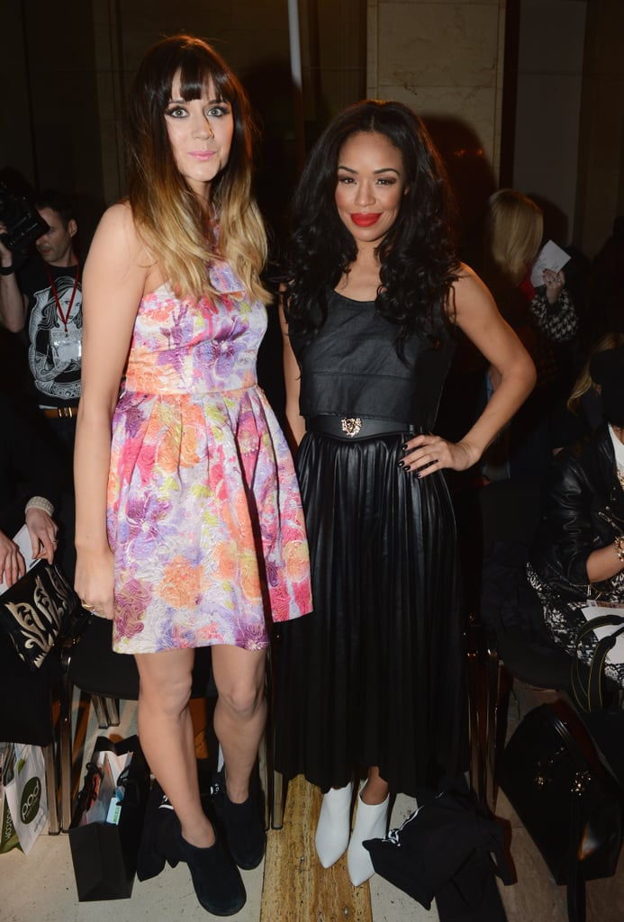 Sarah-Jane Crawford and Lilah Parsons at Ashley Isham