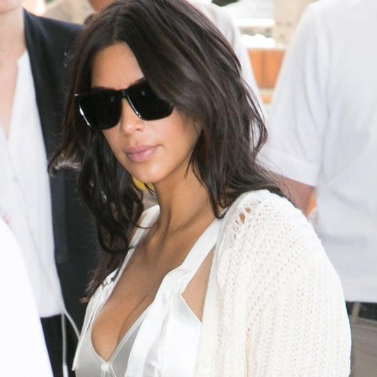 Kim Kardashian's Calvin Klein Dress in Cannes 2016