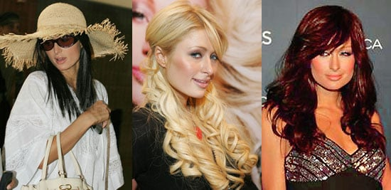 Which Hair Color Looks Best on Paris?