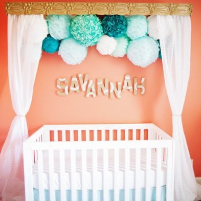 Decorating Ideas For Baby Girl Nurseries
