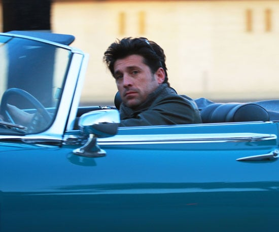 Photo of Patrick Dempsey Driving in LA
