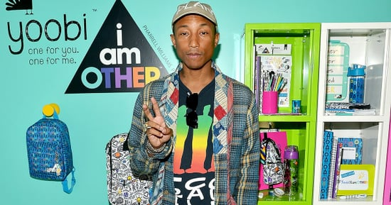 Pharrell Williams Encourages Inclusivity and Acceptance With School Supplies: 'We've Got a Real Shot With Kids'