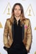 Jared Leto got into Oscars spirit with a gold jacket.