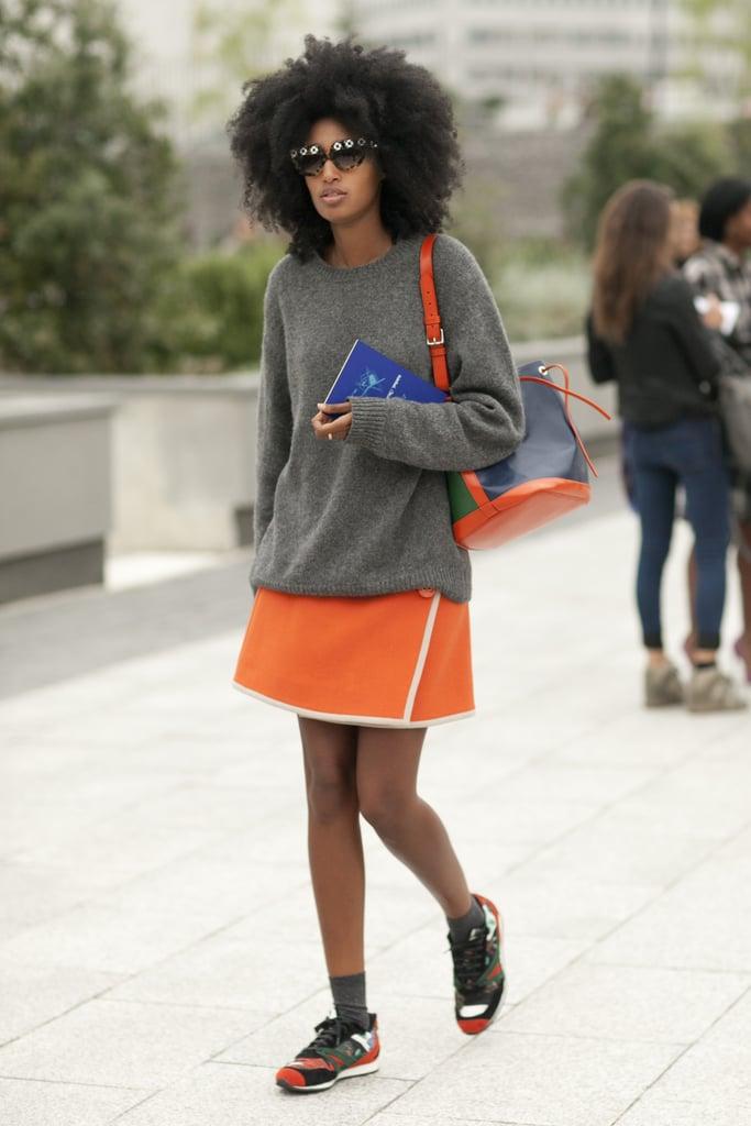 Julia Sarr-Jamois knows that Fashion Week is a sport.
