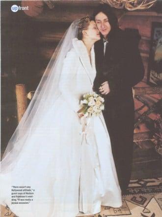Kate Hudson's Winter Wedding Perfection!