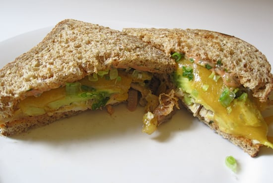 Chicken, Avocado, and Cheddar Melt Recipe