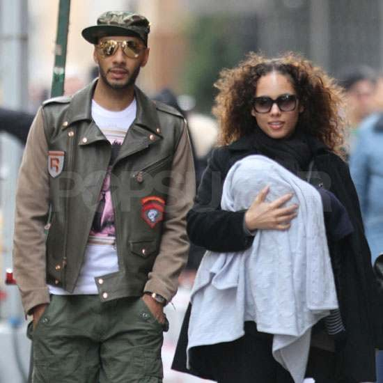 Pictures of Alicia Keys With Baby Egypt Dean, Swizz Beatz, and Prince Dean