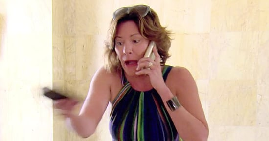 Luann de Lesseps Confronts Fiance Tom D'Agostino Jr. Over Cheating Rumors in 'The Real Housewives of New York City' Finale Sneak