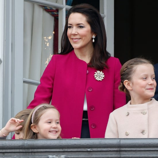 Princess Mary of Denmark's Pink Goat Coat April 2016