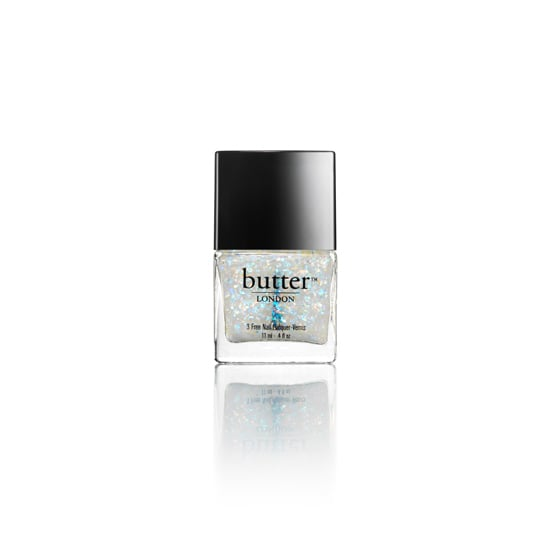 We love being ahead of the game; that's why Butter London's just-released Leccy Overcoat ($15) is a must. It debuted on the ICB by Prabal Gurung Spring 2014 runway, and it adds a touch of holographic flecks that anyone can rock. Try it over your favorite metallic polish or even nude nails for a hint of flash.  — KJ