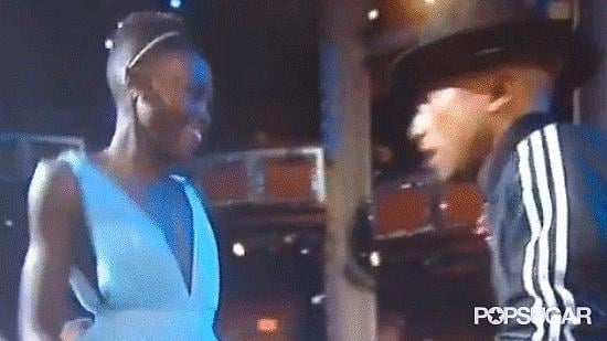 Pharrell's Oscars Performance Becomes an All-Out Dance Party