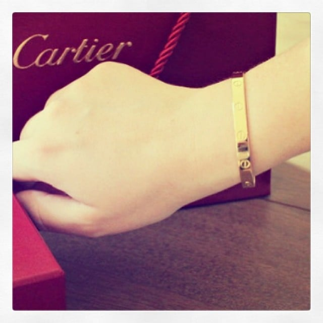 All Locked Up with Cartier's Love Bracelet