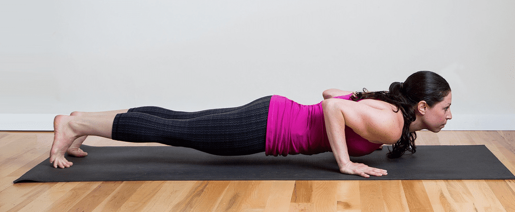 The Most Effective Yoga Pose For Chiseled Arms and a Flat Belly