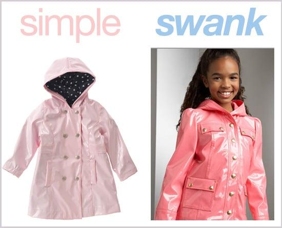 Simple or Swank Raincoats