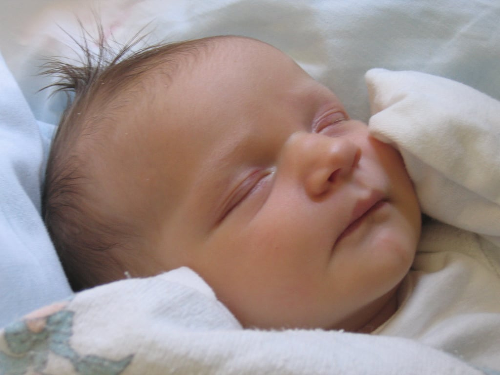 Wake Your Baby as She Falls Asleep