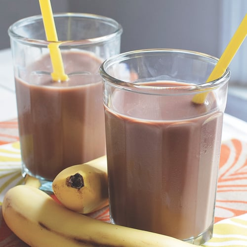 Chocolate and Banana Nut Butter Blast