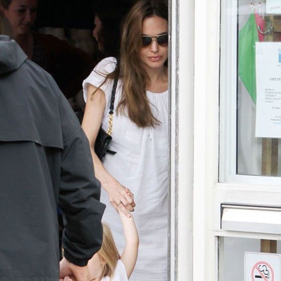 Angelina Jolie Pictures With Her Kids at the Richmond Pottery Shop