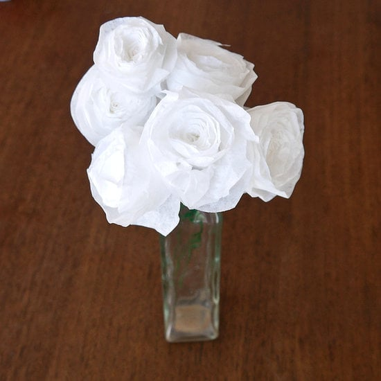 Coffee-Filter Roses