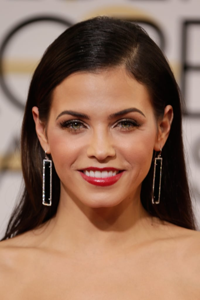 Jenna Dewan's rectangular Irene Neuwirth earrings were total statement-makers.