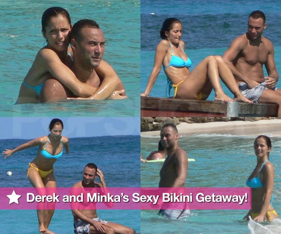 Minka Kelly Bikini Photos With Derek Jeter in St. Bart's