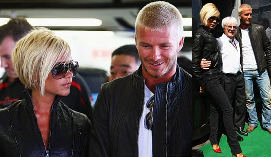 Beckhams Hit Up Grand Prix Before Grand Move