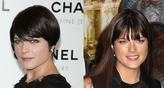 Selma Blair's hair