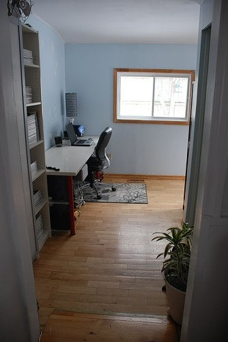 Before and After: Desire to Inspire's Fabulous Home Office