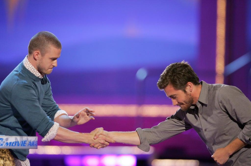 Heath Ledger and Jake Gyllenhaal, 2006