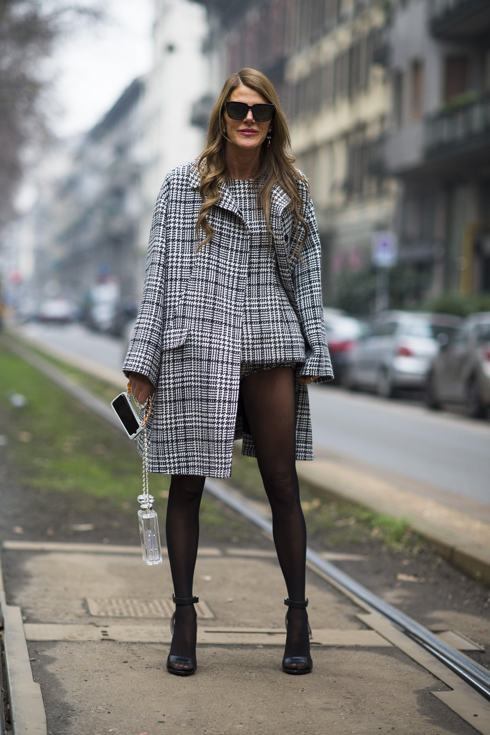 Anna Dello Russo perfected the no-pants look.  Source: Le 21ème   Adam Katz Sinding
