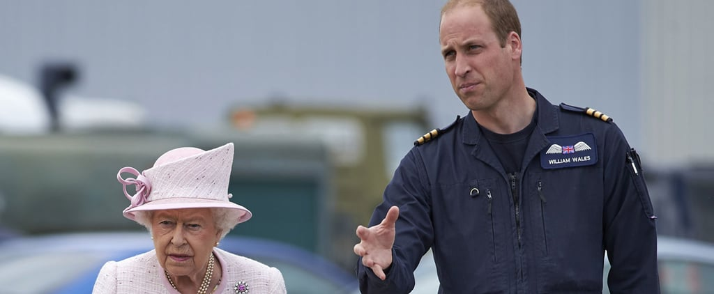 Prince William Spends a Day Out and About With His Grandparents
