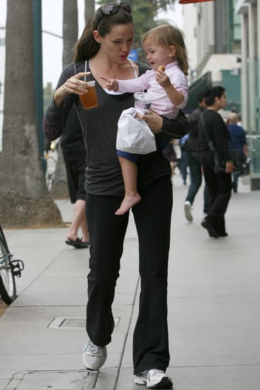 Pictures of Jennifer Garner and Seraphina Affleck in Santa Monica